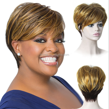 high quality wholesale price bright colors short synthetic hair wig bob style synthetic hair wig