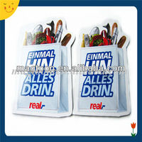 Promotional custom shape paper fridge magnet with low price