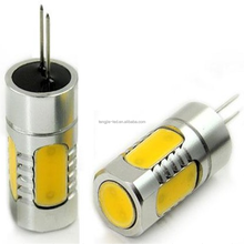 Auto lighting system LED bulb G4 COB auto aluminum car lamp new design