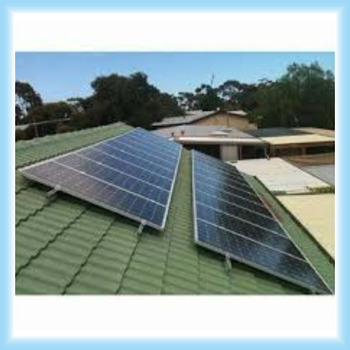 Environment flat plate solar mounting