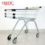 zinc plated 70L trolley how much does a shopping cart weigh