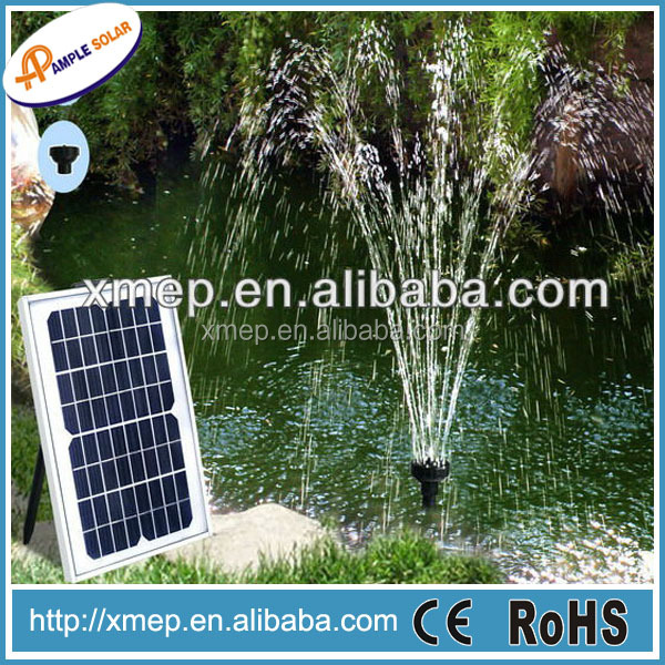 Solar Powered Water Pump High Capacity Motor Solar Energy For Pond