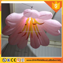 artificial air blower inflatable flower chain for stage decoration