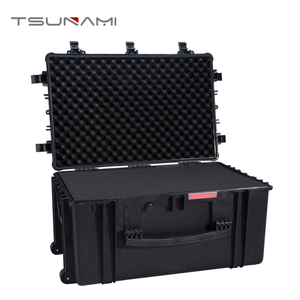 Hard Plastic Travel Equipment Case with Wheels
