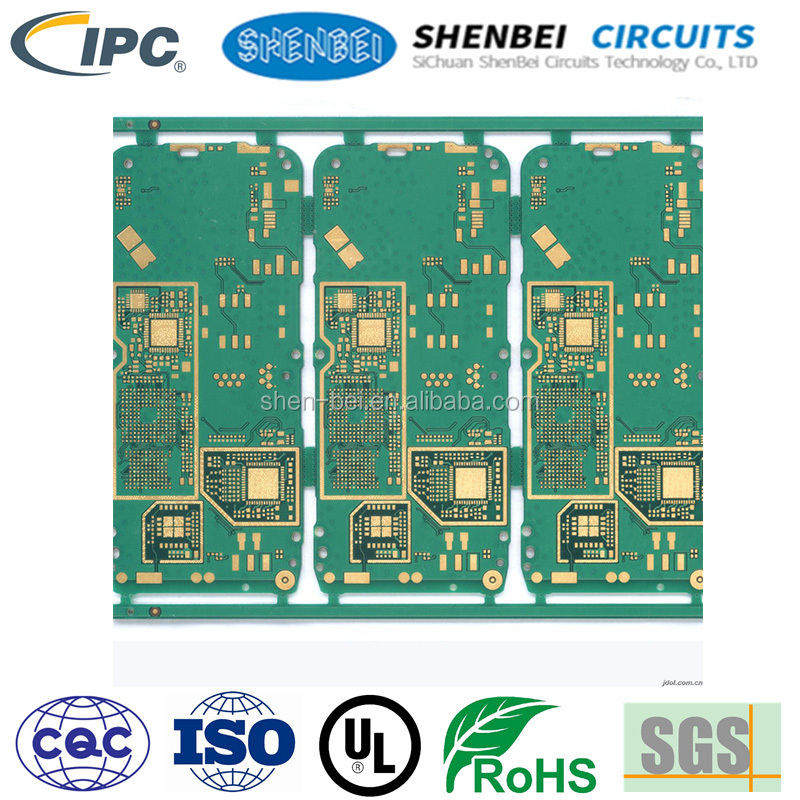 2016 hot sale Multilayer motherboard gps tracker board pcb lpi green solder mask 2 layer pcb