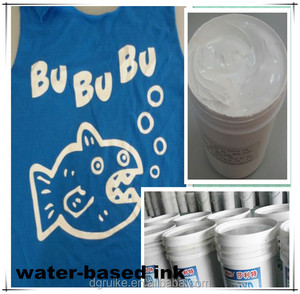 manufacturer supply mucilage glue water-based ink for children T-shirt