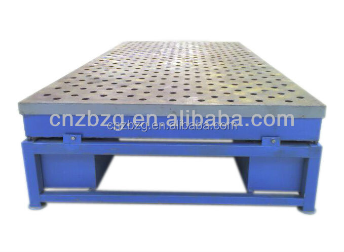 "Welding Fixture Table 40""x40"" : DXF File"