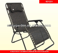 outdoor garden folding recliner chair
