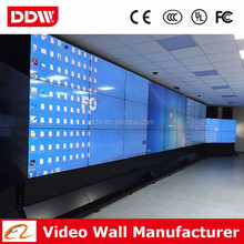 "1.8mm - 3.5mm slim bezel 55"" LG IPS panel led open source LG video wall solutions DDW-LW5506/08"