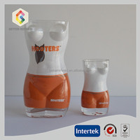 Naked hot body shot glass