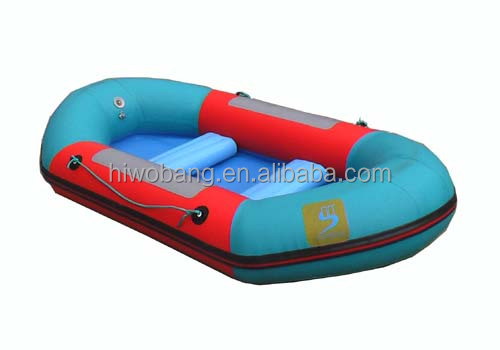 hot!!!(CE)0.9mm PVC material 2-passenger inflatable fishing rubber kayak for sale