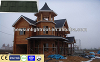 Steel Tiles / Steel Roof Tiles / Stone Coating Chip Steel Roofing