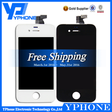 Factory direct sale for iphone 4 lcd only,new display for iphone 4 lcd assembly, for iphone 4 lcd touch screen with digitizer