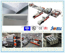 JWELL - PVC/PP/PE polymer polypropylene Waterproof Membrane Extrusion Line/production line