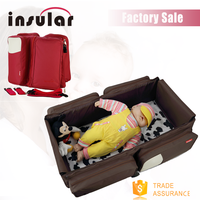 Magical Baby Cot Bassinet and Diaper Bag of multifunctional Baby Bag