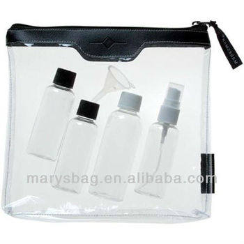 See Through Travel Bag bring onboard