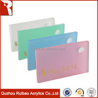 rpoa factory direct sale 100% virgin material frosted acrylic sheet