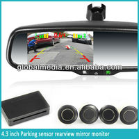 car parking sensor of universal type car rear view mirror germid auto dimming rearview mirror
