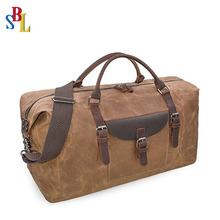 Hi-quality Overnight Travel Duffel Bag Waterproof Canvas Weekender Tote Bag Wholesales Sport Bag