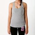 95%cotton& 5% spandex ladies slim fit muscle top