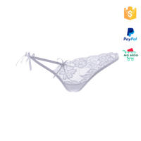 White Lace one piece g-string underwear panties for women