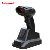 Portable long range gun type laser barcode scanner module for industrial use