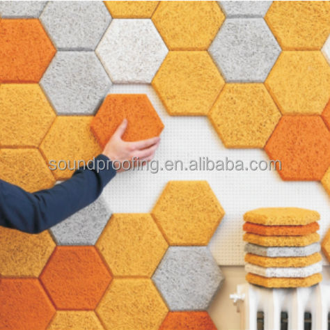 Supply Fireproof and Sound Absorbing Interior Wood Wool Acoustic Panel