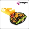 MCALLEN Marathon Texas Black plating Metal Soft Enamel Medals with customized ribbon in yellow