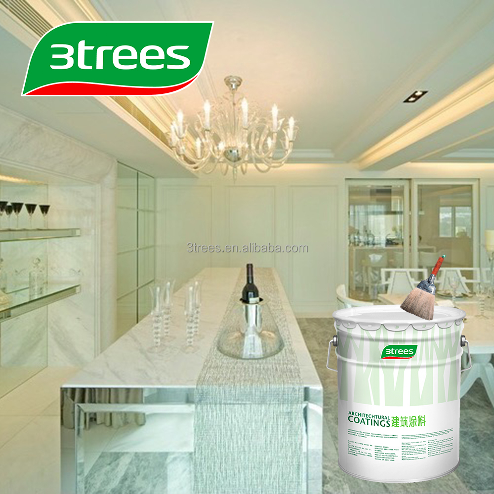 3TREES High Performance Oil Based White Wood Paint(sealer)