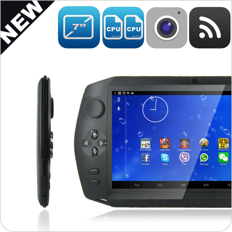 2014 New tablet pc !!! Rockchip 3168 dual core 7 inch Android 4.2 wireless game pad with 1080P HDMI/ Multiplayer online battle