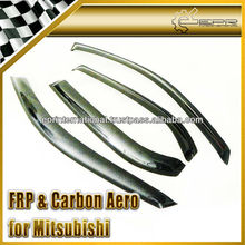 For Mitsubishi Evolution EVO 7 8 9 Carbon Fiber Wind Deflector