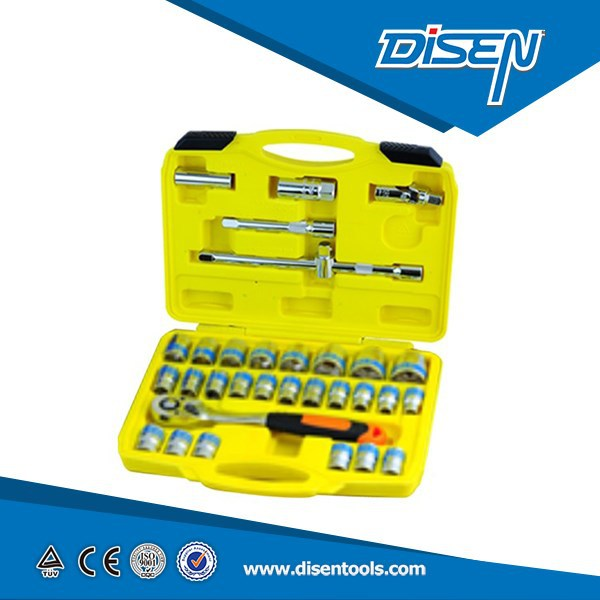 "1/2""DR 32 PCS cr-v box end SOCKET SET NKS-2011"