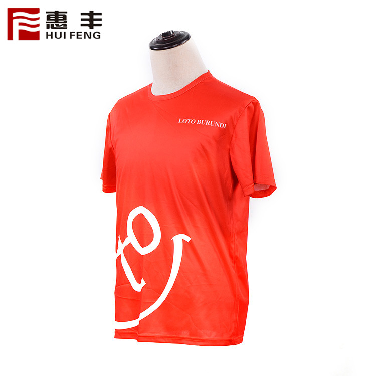 Colorful Digital Tshirt Printing Design High Quality Sports Tshirt Women
