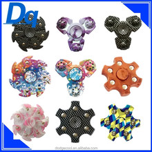 new arrival metal spinner fidget toys the round shape and rainbow colors hand spinner