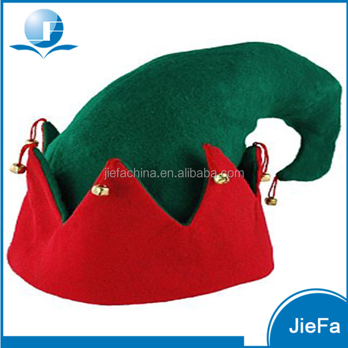 2017 High quality customized infant elf christmas hat