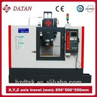ME850 specification of vertical milling machine