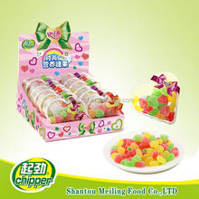 26g halal heart jelly gummy candy