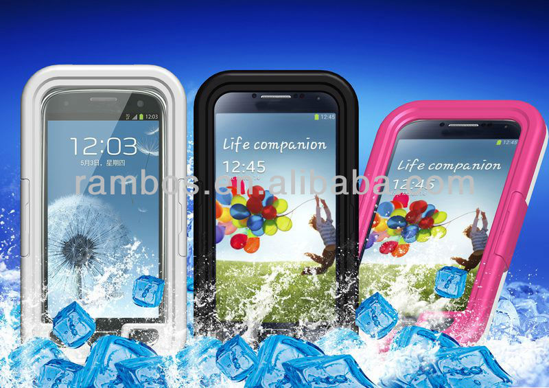 Waterproof Dirtproof Shockproof durable case covers for Samsung Galaxy S4