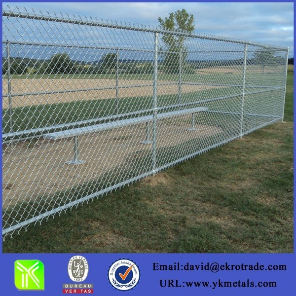 Portable Chain Link Fence Panels/Temporary Chain Link (Factory)