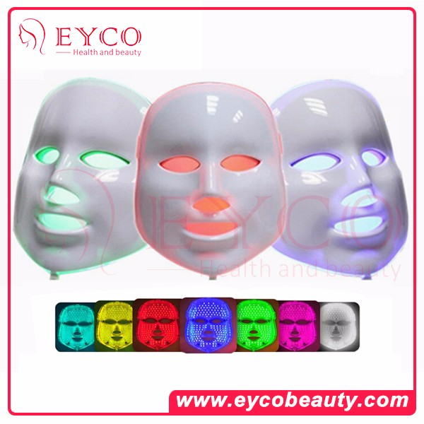 mask face care acid red light treatment reviews facial face lamp mask spring and summer astringe pores acne