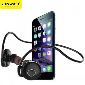 Awei A845BL Audiophones Smarphones Sport Earphones Bluetooth Wireless