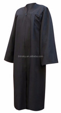 Custom Black Graduation Gown