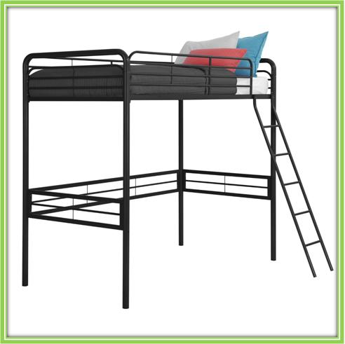 Metal Loft Bed Adult Loft Bed Twin Loft Bunk Bed For Sale
