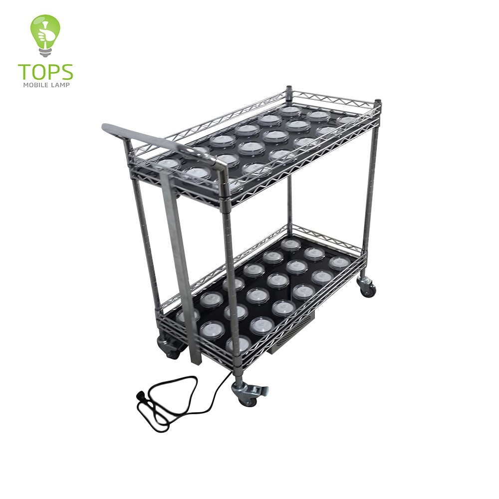 Tops-lighting 36 Lamps charging trolley