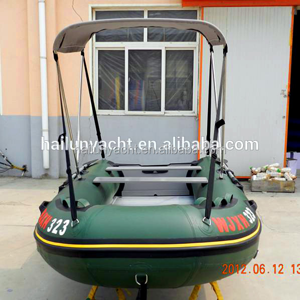 CE approved yacht made in china 3.6m inflatable boat for sale HLL360