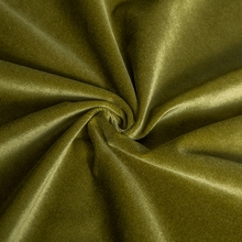 Factory supply dense pile length 1 mm knitted velboa polyester fabric
