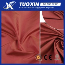 taffeta shantung fabric/190Tpolyester taffeta interlining fabric /lining fabric for garment