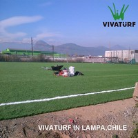 VIVATURF Hot Sale Standard Sintetic Synthetic Grass for Soccer Fields