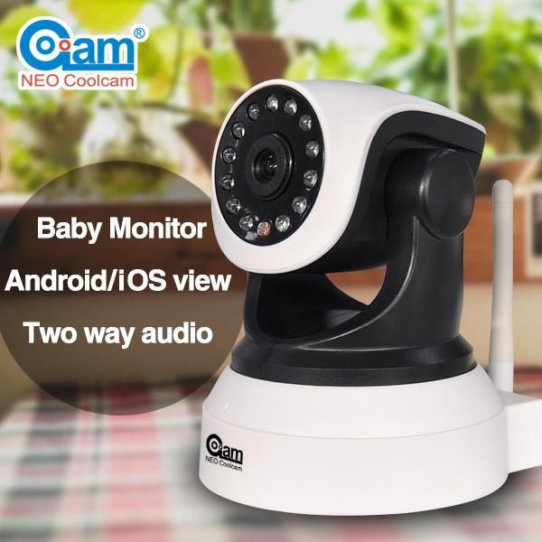 Two Way Audio P2P WiFi IP Camera with Free UID