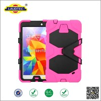 Shockproof Tablet Case Silicone Rubber Tablet Case Silicone + PC Case For Samsung Galaxy Tab 4 T330 8.0 inch